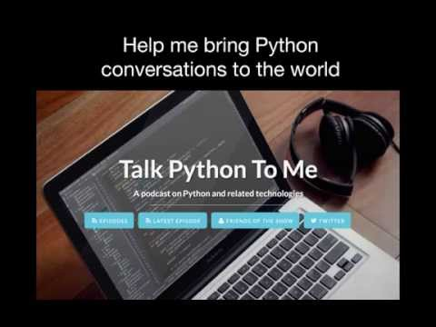 Talk Python To Me Podcast Patreon Campaign