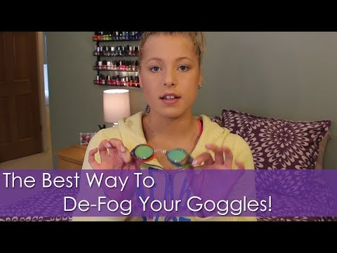 Swim Hack: The Best Anti-Fog For Goggles!