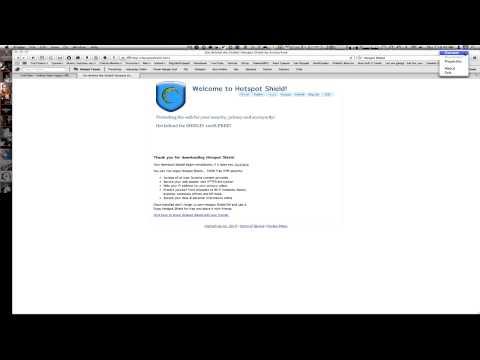 App Review: Hotspot Shield - Mac &  PC