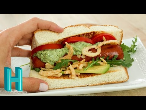 How to Make Sooo Cali Dogs |  Hilah Cooking