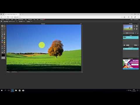 Pixlr Editor: foto bijsnijden