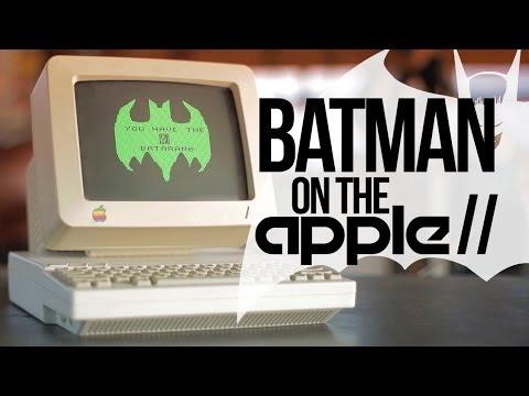 Batman Game on the Apple II