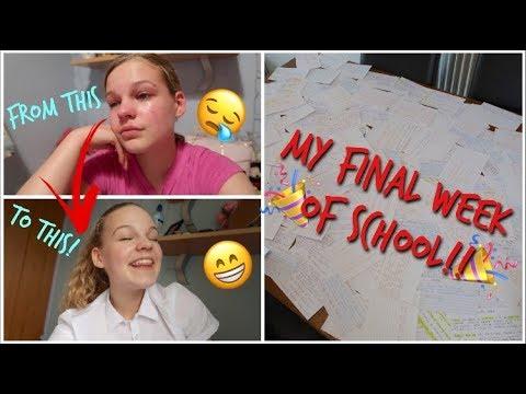 My Last Ever Week Of School!! Final GCSE Vlog~lush leah
