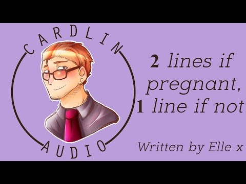 ASMR Roleplay: 2 lines if pregnant, 1 line if not [Checking a home pregnancy test together]