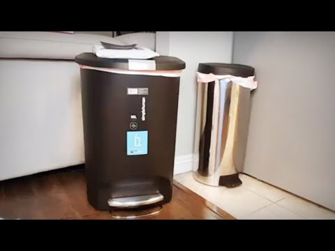 Simplehuman Step Trash Can 50 L / 13 Gal: Best Bang for the Buck!
