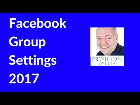 How to change the privacy settings on your Facebook group 2017