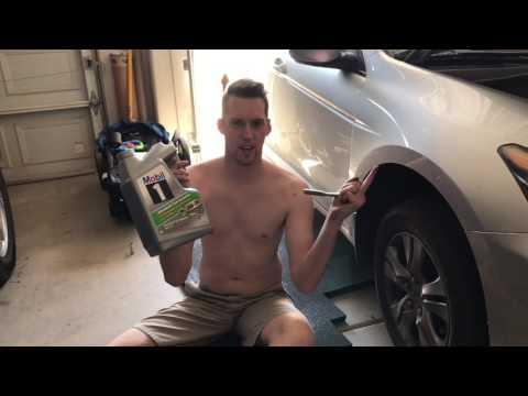 2012 Honda Accord Oil Change