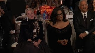 The Awkward Moment at the Golden Globes No One Is Talking About... Except Ellen!