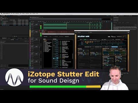 Sound Design Using iZotope Stutter Edit in Adobe Audition