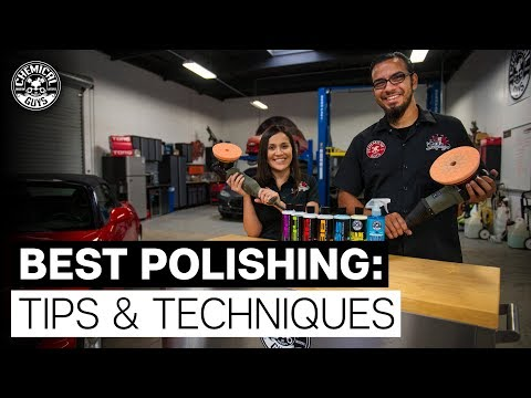 Top 5 Polishing Tips For Removing Car Scratches ! - Chemical Guys