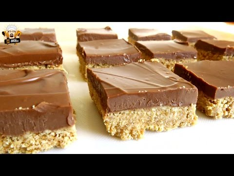 NO BAKE COOKIE BUTTER BARS