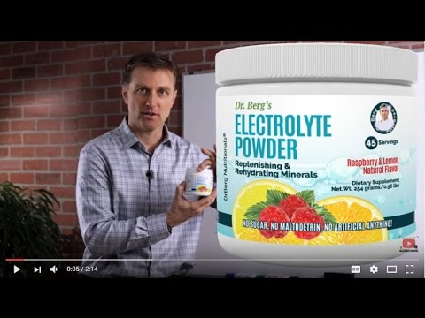 Dr. Berg's New Electrolyte Powder: Review