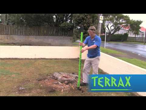 TERRAX - How To Clear & Remove Tree Roots