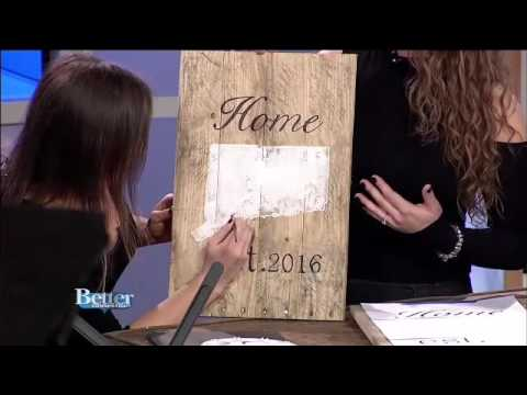 Reclaimed Wood Sign Class