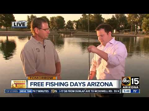 Free fishing in Arizona this weekend