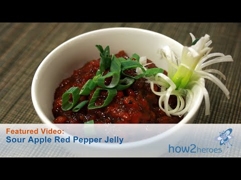 Sour Apple Red Pepper Jelly & Dipping Sauce
