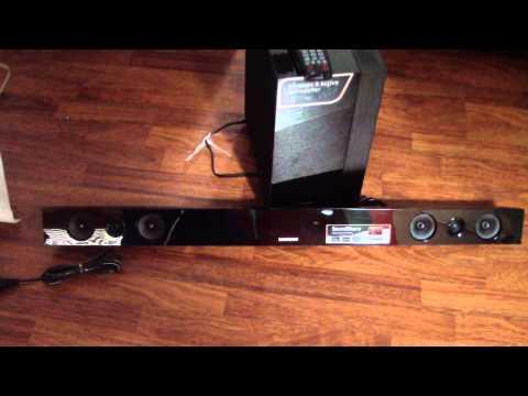 Samsung HW-F450 Sound bar Sound Review via flash drive bluetooth