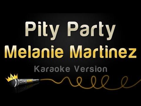 Melanie Martinez - Pity Party (Karaoke Version)