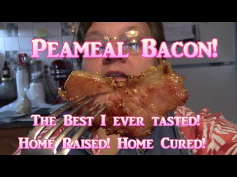 Peameal Bacon! Home Raised, Home Cured!