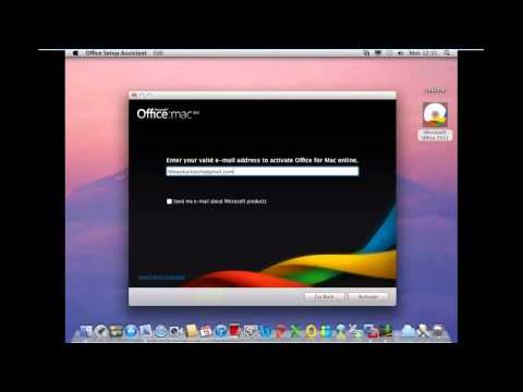 How To Install Microsoft Office 2011 in Mac OSx 10 7 5