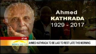 Ahmed Kathrada to be laid to rest Wednesday, Mzwai Mbeje reports