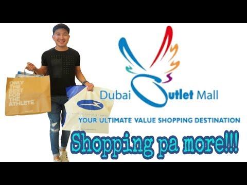 GUMALA AT NAG SHOPPING SA DUBAI OUTLET MALL