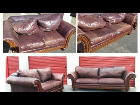 Easy Leather Couch Repair