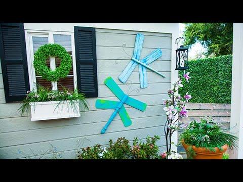 DIY Garden Dragonflies - Home & Family