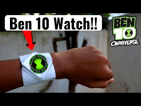 How to make a Ben 10 Watch | Omnitrix | Easy DIY | Origami | Dr. CraZy ScieNce