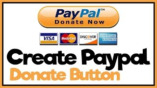 How To Make A Paypal Donate Button Paypal Tutorial