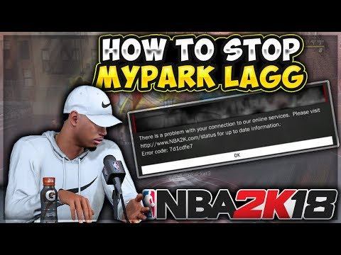 HOW TO FIX THE 2K SERVERS IN NBA 2K18 & STOP LAGGING IN THE PARK 100% !!! PROOF!