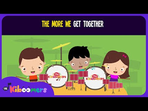 The More We Get Together Song for Kids | Circle Time Songs for Preschool | The Kiboomers