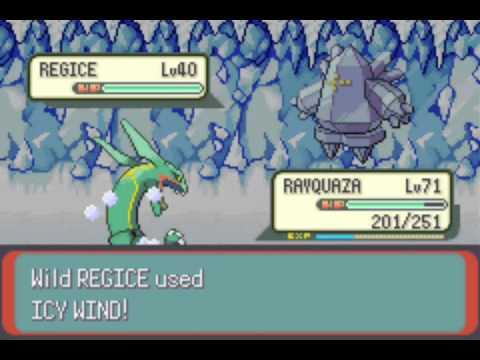 Pokémon Emerald: Part 21: Catching Regirock, Regice, and Registeel