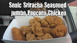 Carbs Sonic Sriracha Seasoned Jumbo Popcorn Chicken