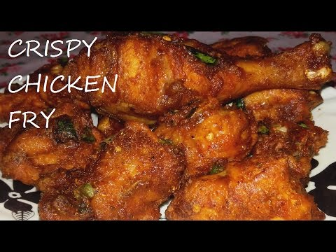 How To Make Crispy Chicken Fry/Homemade Chicken Fry Recipe/Spicy Chicken Fry Recipe Simple & Tasty