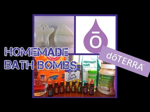 HOMEMADE BATH BOMBS WITH DOTERRA ESSENTIAL OILS