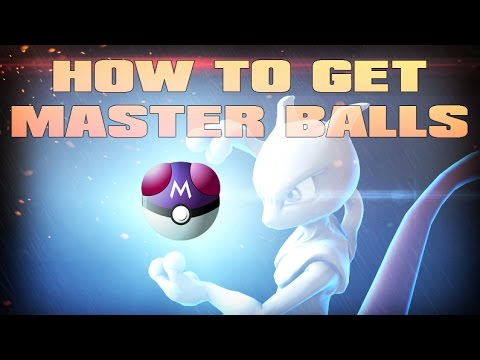 Roblox: Project Pokemon|HOW TO GET MASTER BALLS!