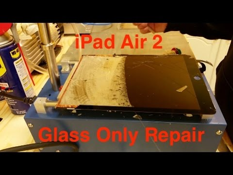iPad Air 2 Glass Only Replacement - Repair
