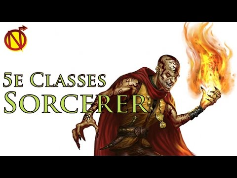 The Sorcerer Slinging Spells in D&D 5E| Dungeons and Dragons 5th Edition Classes