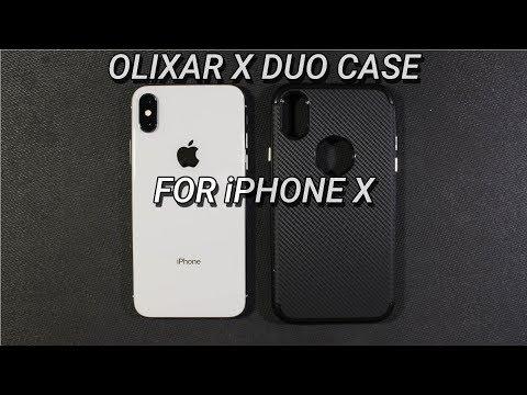 iPhone X Olixar X Duo