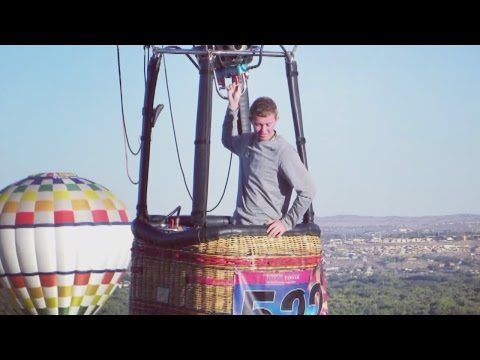 Balloon pilot to fly hand-stitched balloon in competitions