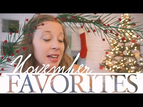 November Favorites Beauty, Home, & Kids | VLOGMAS 5 | steffiethischapter
