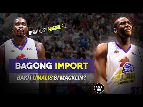 Bagong Import ng Magnolia | Bakit ba UMALIS si Macklin?