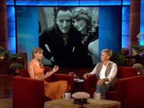 Exclusive! Taylor Swift's Springsteen Story on Ellen show