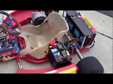 2008 Birel R31 Electric-Powered Go Kart