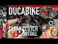 How To Replace Clutch Plates Ducabike Clutch Cover and Pressure Plates