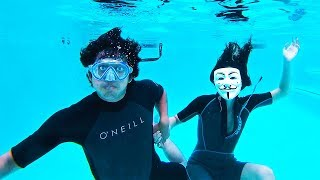 Download Hacker Girl Underwater Date Breaking Project Zorgo Secret Box (Found CLUES!) Video