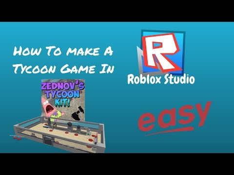How To Make A Tycoon Game In Roblox Studio (Easy)