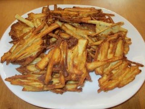 How to make Vietnamese Sweet Potato Fritters - Bánh Khoai Rán