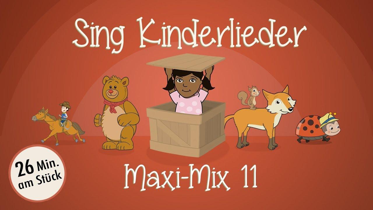 Sing Kinderlieder Maxi-Mix 11: Sonnenkäferlied | Widele, Wedele | Teddybär | Von den blauen Bergen